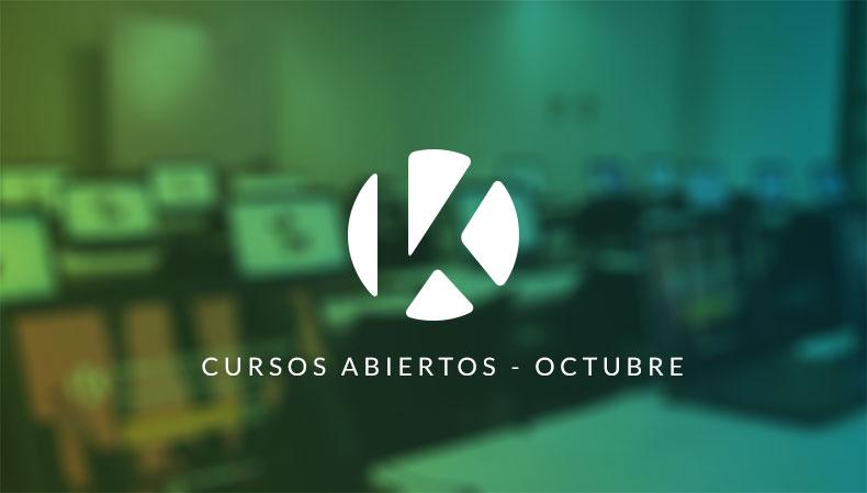 cursos abiertos Kibernum IT Academy OCTUBRE